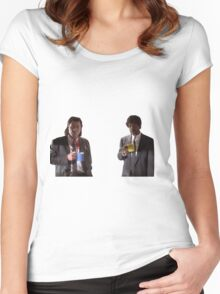 Vincent And Jules Pulp Fiction Women's Fitted Scoop T-Shirt