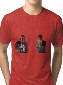 Vincent And Jules Pulp Fiction Tri-blend T-Shirt