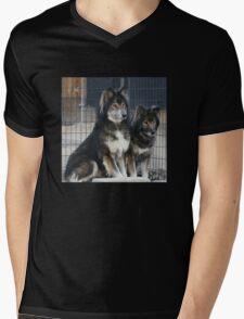 Wolfie Wear Hoodie Mens V-Neck T-Shirt