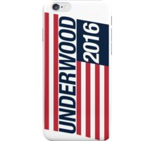 Vote Frank Underwood 2016 iPhone Case/Skin