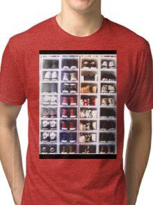 Sneaker Head - Collection Tri-blend T-Shirt