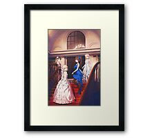 Tsukihime Characters Victorian Dress Framed Print
