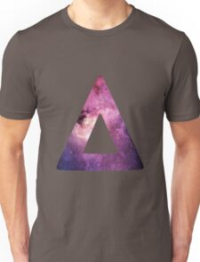 Triangle Galaxy Unisex T-Shirt