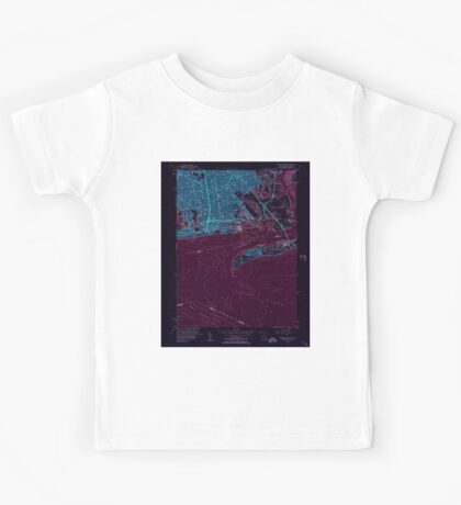 New York NY Coney Island 137695 1955 24000 Inverted Kids Tee