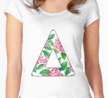 Bastille Pattern Women's Fitted Scoop T-Shirt