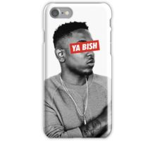 Ya Bish Kendrick iPhone Case/Skin