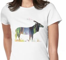 Gemsbok Womens Fitted T-Shirt