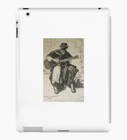 Argentine Gaucho from Butch Cassidy's time iPad Case/Skin