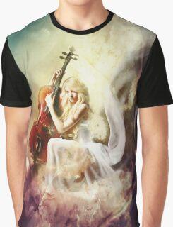 ISRAFEL - Engel der Musik - Angel of Music Graphic T-Shirt