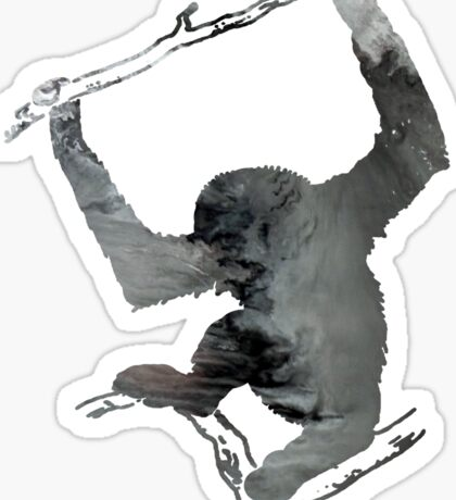 Gibbon Sticker