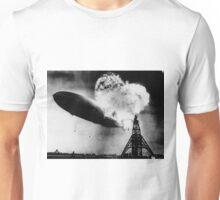 Hindenburg Zeppelin Unisex T-Shirt