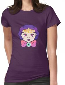cutie pie Womens Fitted T-Shirt