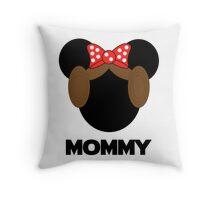 Mommy Leia Minnie Throw Pillow