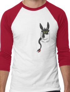 How To Train Tour Dragon, Toothless pocket Men's Baseball ¾ T-Shirt