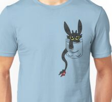 How To Train Tour Dragon, Toothless pocket Unisex T-Shirt