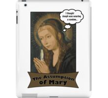 The Assumption of Mary iPad Case/Skin