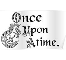 Once upon a time- logo Poster