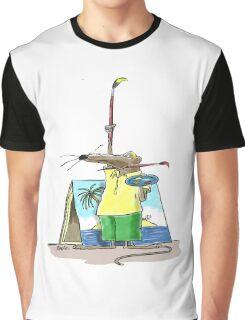 Cartoonist Barry the Shrew Graphic T-Shirt