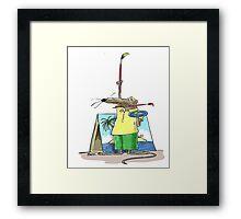 Cartoonist Barry the Shrew Framed Print