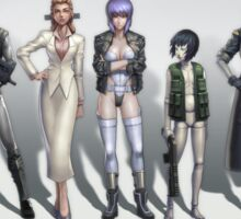 Ghost in the Shell - Every Kusanagi Sticker