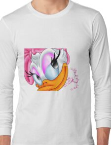 ~Daisy Duck ~ Long Sleeve T-Shirt