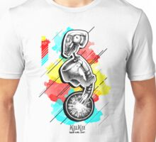Futuristic cyborg without mouth and nose  Unisex T-Shirt