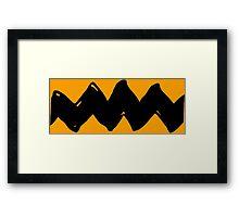 Charlie Brown - Golden Yellow Variant Framed Print