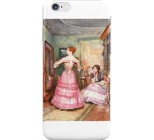 John Henry Frederick Bacon - Designs on Mrs. Merdle, iPhone Case/Skin