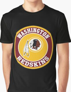 Washington Redskins Logo Graphic T-Shirt