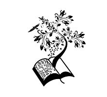 A Book A Day Keeps The Reality Away - Typography Photographic Print