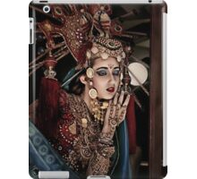Tells the story of a woman full of beauty iPad Case/Skin