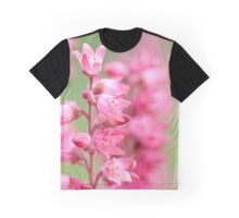 Pretty pink flowers Graphic T-Shirt