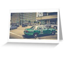 Beverly Hills - Taxi - Wilshire Boulevard Intersection II Greeting Card