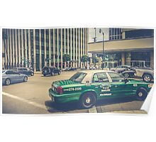 Beverly Hills - Taxi - Wilshire Boulevard Intersection II Poster