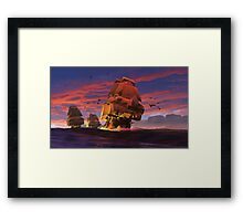 The Winds of Triton Framed Print
