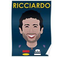 Daniel Ricicardo 2016 Poster