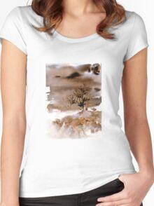 Akwarelka 04 Women's Fitted Scoop T-Shirt