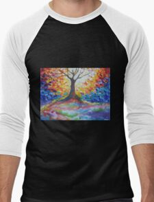Tree Of Hope Men's Baseball ¾ T-Shirt