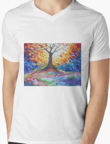 Tree Of Hope Mens V-Neck T-Shirt