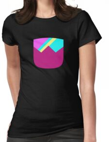Simple Cuts - Garnet Womens Fitted T-Shirt