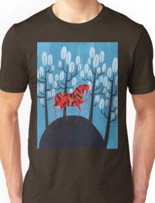 Smug red horse Unisex T-Shirt