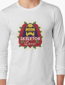 Skeletor is Love Long Sleeve T-Shirt