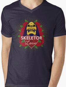 Skeletor is Love Mens V-Neck T-Shirt