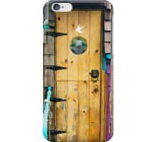 Houseboat Doorway by Fisherman's Wharf iPhone Case/Skin