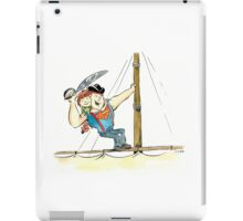 Sloth to the rescue! iPad Case/Skin