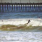 Surfing off Imperial Beach, California ~ USA by Marie Sharp