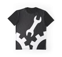 Throw a wrench in the works - white version Graphic T-Shirt