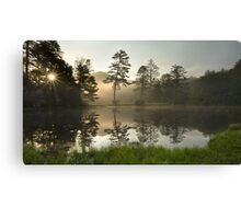 Sunrise over Lake Hampton, North Carolina Canvas Print