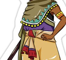 metabe_chara_africa-M Sticker