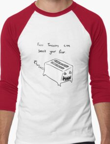 Toasters Can Smell Your Fear Men's Baseball ¾ T-Shirt